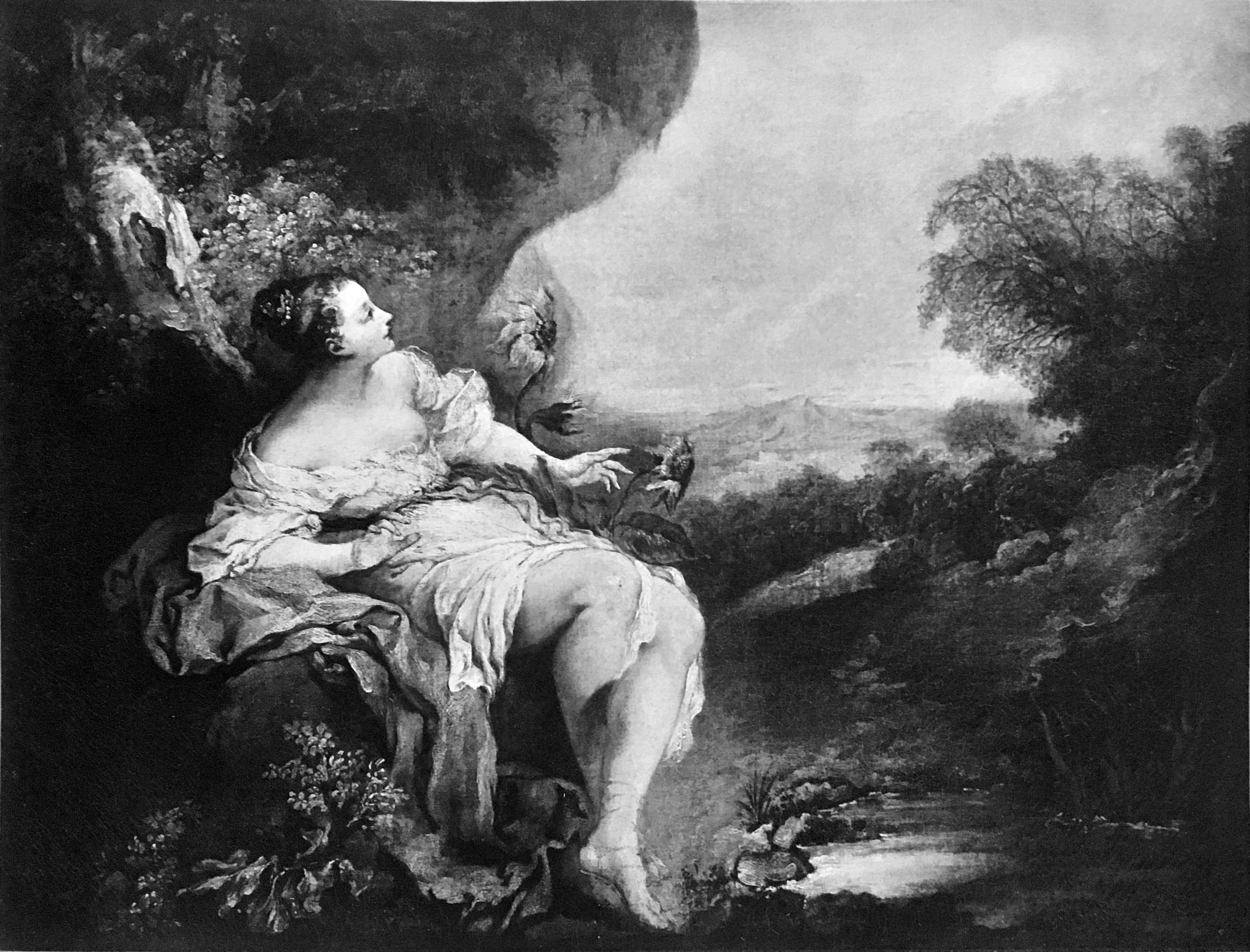 Watteau Abecedario X Clytie